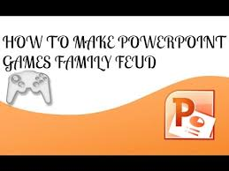 how to make powerpoint family feud games youtube