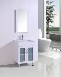 bathroom minimalist white bathroom vanity with frozen glass