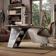Unique Desks For Home Office Aviation Themed Home Office Design Deniz Home