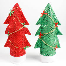 Christmas Tree Wine Bottles Diy Xmas Tree Wine Bottle Cover Bags Kitchen Tables Decoration