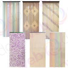 Diy Beaded Door Curtains Beaded Door Curtain Wooden Bamboo String Curtains Beads Fly Bug