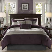 Plum Bed Set Park Kennedy Plum Comforter Set Free Shipping Today