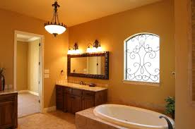 Bathroom Paint Schemes White Round Bathtub Twin Two Flower Pots Bathroom Paint Color