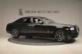 black rolls royce 2017 rolls royce ghost black badge stock r422 for sale near