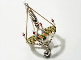 431 best gablonz construction glass beaded ornaments images on