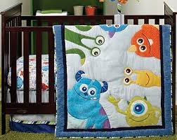Disney Baby Monsters Inc 4 Piece Crib Bedding Set Toys