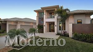Contemporary House Plans Moderno A Contemporary Home Plan Youtube