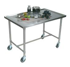 black kitchen island with stainless steel top decorating black kitchen trolley commercial stainless steel island
