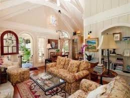Floral Living Room Furniture Country Cottage Living Room Furniture Foter