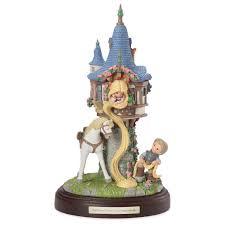 precious moments rapunzel castle musical figurine figurines
