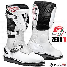 off road riding boots new sidi zero 1 trials boots offroad trail adventure ebay