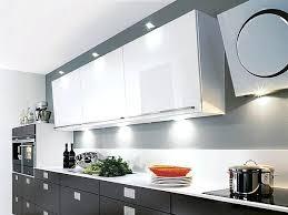 spot encastrable pour meuble de cuisine spot meuble cuisine des spots fixacs sur les meubles hauts et
