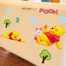 desain kamar winnie the pooh winnie pooh cartoon diy wallpaper for kids rooms bedroom house