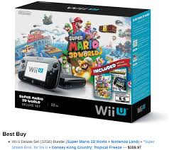 best buy black friday wii u deals why no wii u love for black friday and cyber monday neogaf