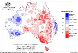 Drought April 2013 State Of The Climate National Centers For Drought Archive Bureau Of Meteorology