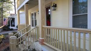 How To Make Handrails For Decks Diy Porch Railing Porch Railing Stuff Like Pinterest Porch