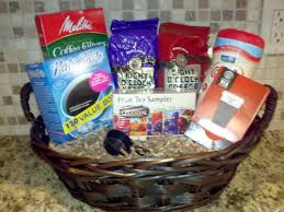 coffee baskets gift baskets on a budget