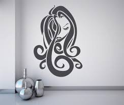 wall vinyl sticker decals mural room design pattern art hair salon wall art salon wall design image permalink