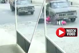 horror crash bloke somehow cheats death as motorbike slams into