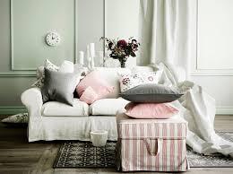3er sofa grau 3er sofa und ektorp hocker mit bezug mobacka in beige rot mit