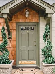 Front Door Colors For Beige House Front Doors Wondrous Green Front Door Colored Front Door
