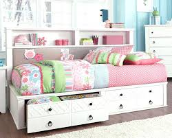 Black Bookcase Headboard Twin Storage Bed With Bookcase Headboard U2013 Getgravity Co