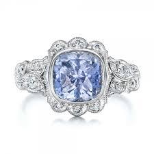 custom light blue sapphire and engagement ring 102135 - Light Blue Sapphire Engagement Rings