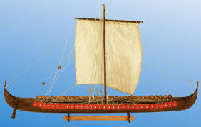 viking longship 11th century 1 72 scale wooden model kit dusek