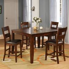 Pub Table Set Warehouse M 1279 Mango Pub Table Set With 4 Bar Stools Pilgrim