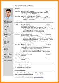 Mckinsey Resume 8 Download Cv Template Pdf Resume Setups