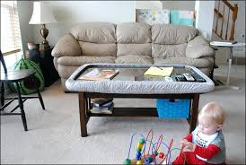 Kid Friendly Coffee Table Best Coffee Table For Toddlers For Interior Best Also