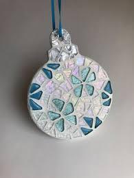 mosaic tree ornament mosaic ornaments