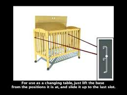 3 In 1 Mini Crib On Me 3 In 1 Portable Mini Crib Style 683