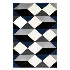 Designer Wool Area Rugs Gem Stone Designer Wool Rug Blue Free Shipping Australia Wide