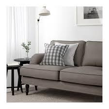ambiance canape stocksund canapé 3 places ljungen gris noir bois ambiance salon