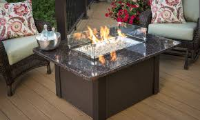 table patio ideas with gas fire pit modern large stunning patio