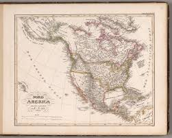Nord America Map by Nord America 1832 David Rumsey Historical Map Collection