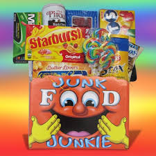 junk food gift baskets junk food gift basket for all