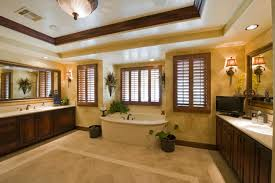 Bathroom With Beige Tiles What Color Walls 52 Master Bathroom Designs With Beautiful Woodwork