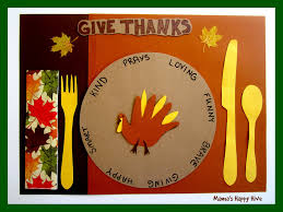 5 crafting gratitude turkey placemats s happy hive