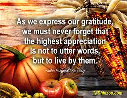 thanksgiving thoughts quotes like success