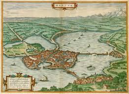 Map Of Verona Italy by Old Antique Map Of Mantua Mantova By Braun U0026 Hogenberg