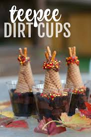 teepee dirt cups i can teach my child