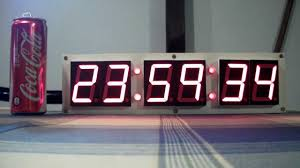 ivation clock big led clock prototipo by ste youtube