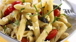 recette salade de pâtes et kiri entrée