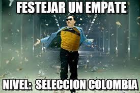 Colombia Meme - festejar un empate seleccion colombia meme on memegen