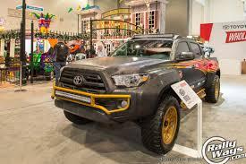 rally truck build generation 3 sema tacoma builds rallyways