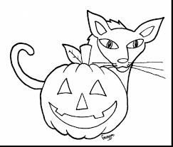 magnificent printable black and white halloween clip art with free