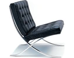 Knoll Rocking Chair Barcelona Chair Hand Polished Stainless Hivemodern Com