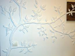 decorative 3d gypsum wall panel flowers design studio gervers